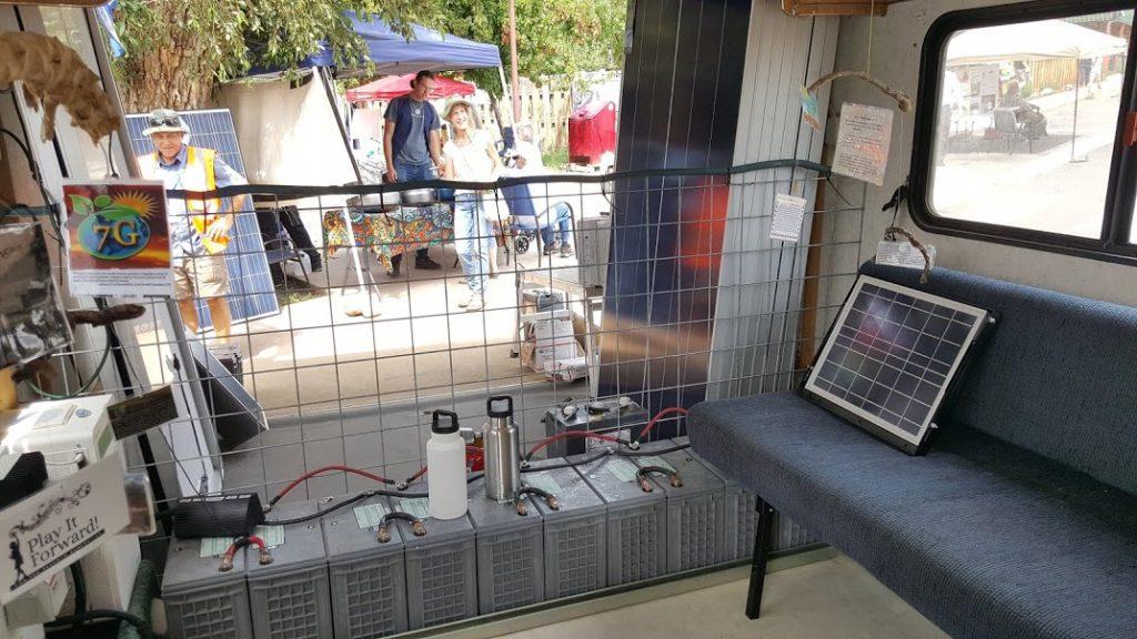 Solar Panel Demo van