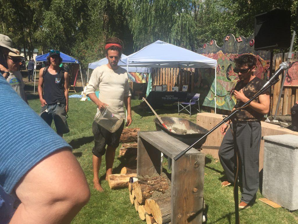 Cord wood Demo