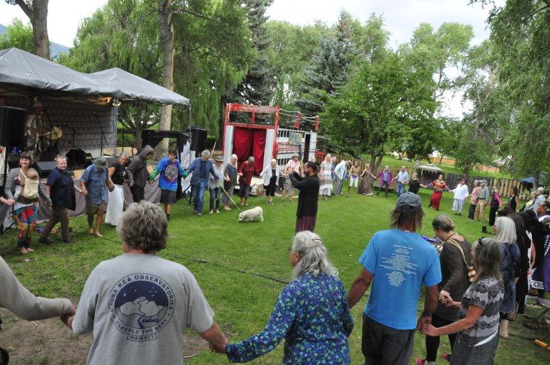 Community Circle Dance