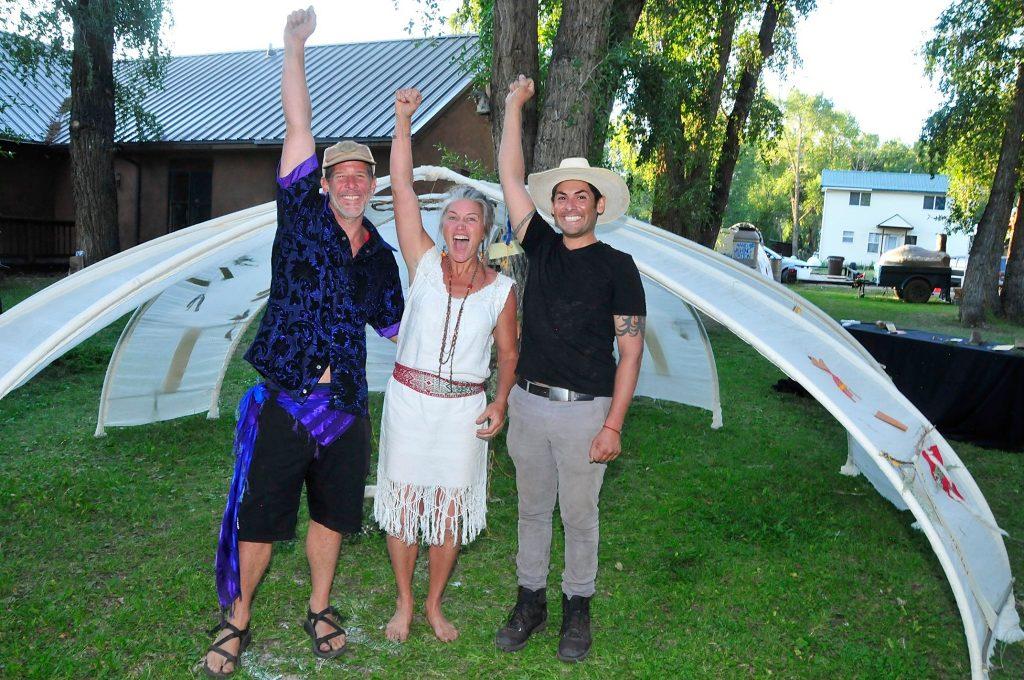 Donovan, Lisa and Nick